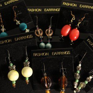 Fashion Earring Vriety Pack (Lot)